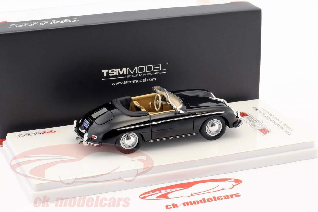 Porsche 356 Speedster Intermeccanica Charlie Film Top Gun (1986) schwarz 1:43 TrueScale
