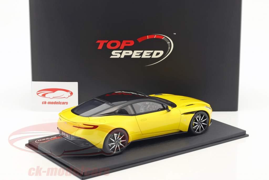 Aston Martin DB11 sunburst gelb 1:18 TrueScale
