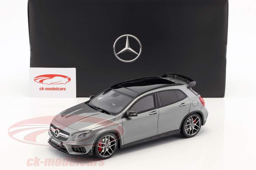 Mercedes-Benz AMG GLA 45 SUV montanha cinza 1:18 GT-Spirit