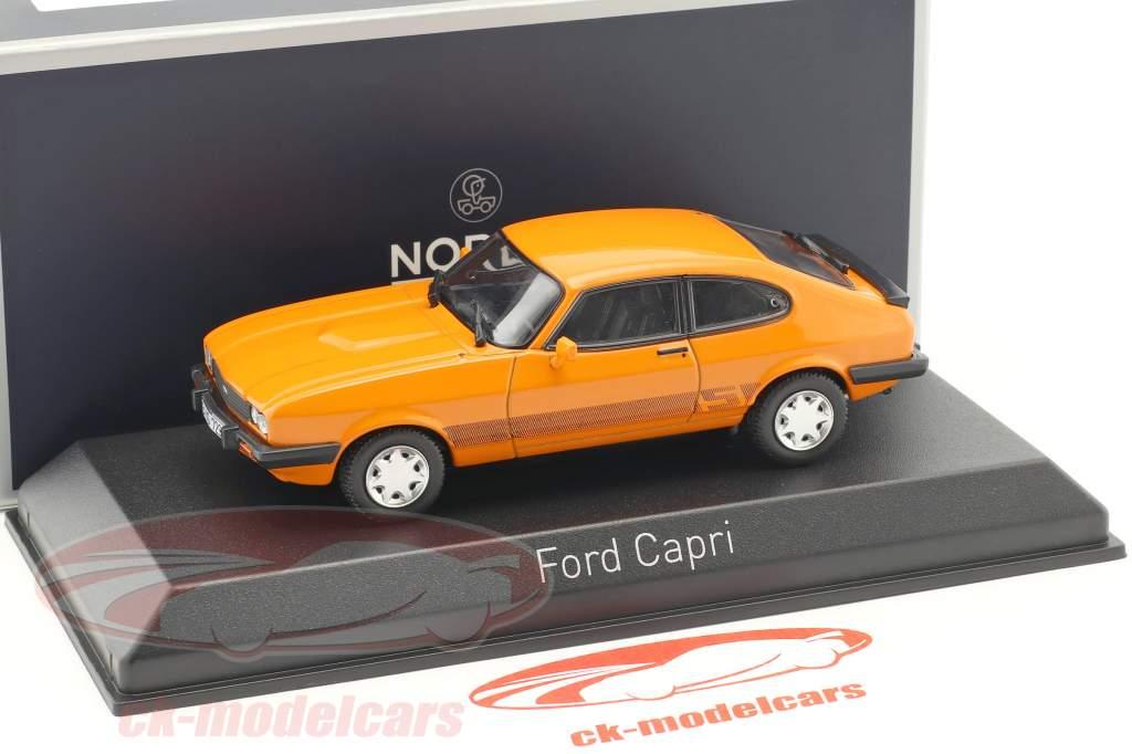Ford Capri III Baujahr 1980 orange 1:43 Norev