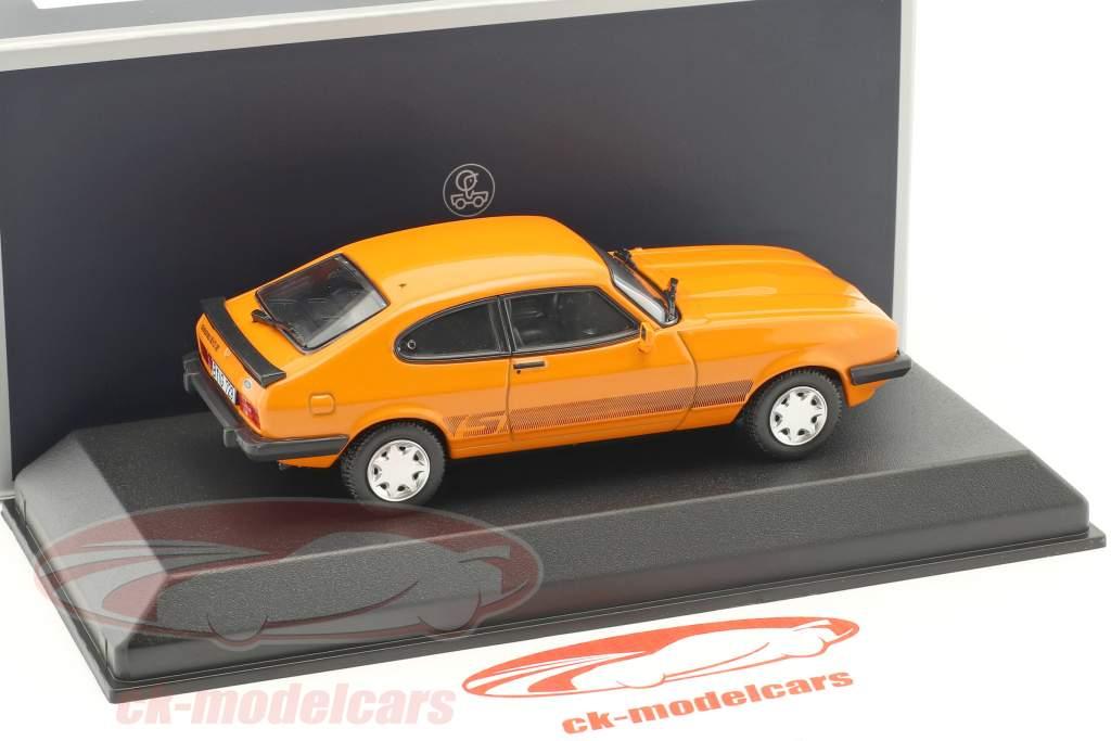 Ford Capri III anno di costruzione 1980 arancione 1:43 Norev