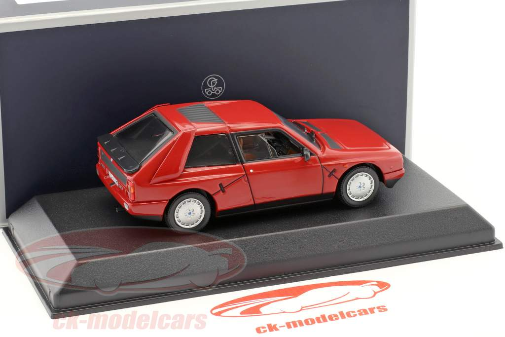 Lancia Delta S4 year 1985 red 1:43 Norev