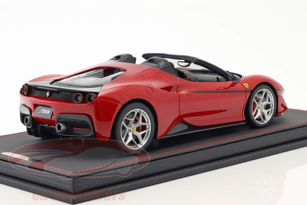 Ferrari J50 Roadster 50th Anniversary Ferrari Japan 2016 rot mit Vitrine 1:18 BBR