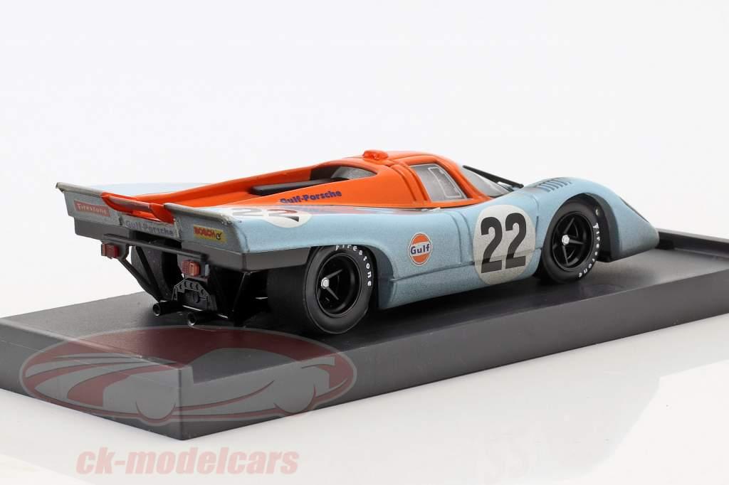 Porsche 917K Dirty Version #22 24h LeMans 1970 Hailwood, Hobbs 1:43 Brumm