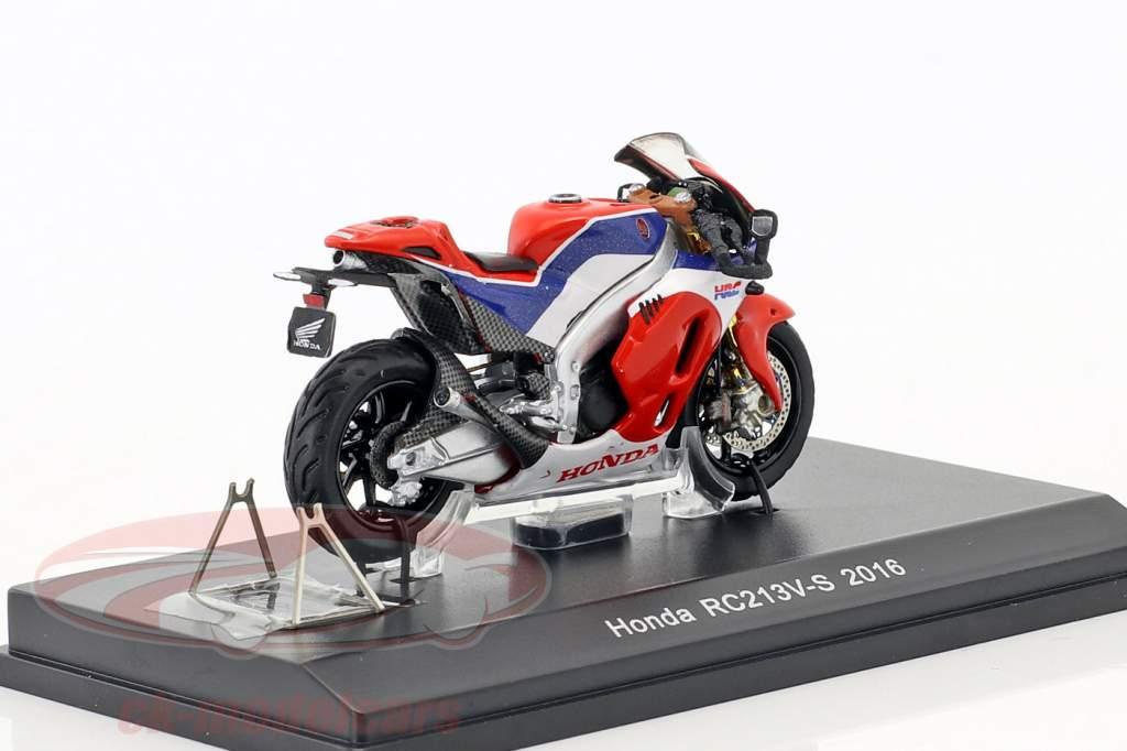 Honda RC213V-S Baujahr 2015 rot / blau / weiß 1:43 Spark