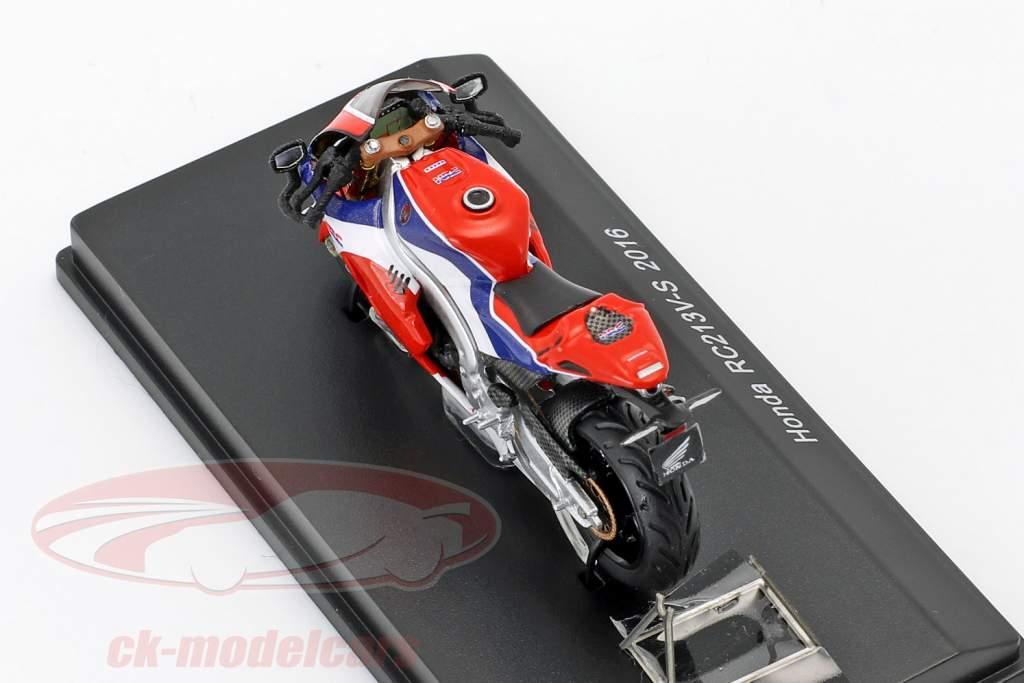 Honda RC213V-S année de construction 2015 rouge / bleu / blanc 1:43 Spark