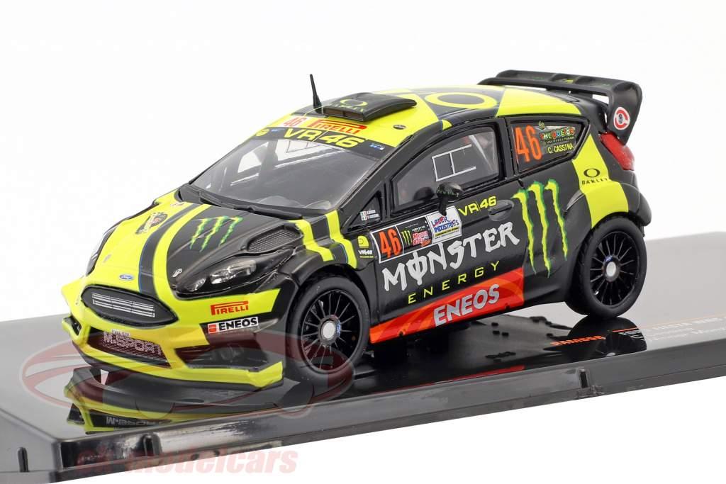 Ford Fiesta WRC #46 Winner Monza Rallye Show 2017 Rossi, Cassina 1:43 Ixo