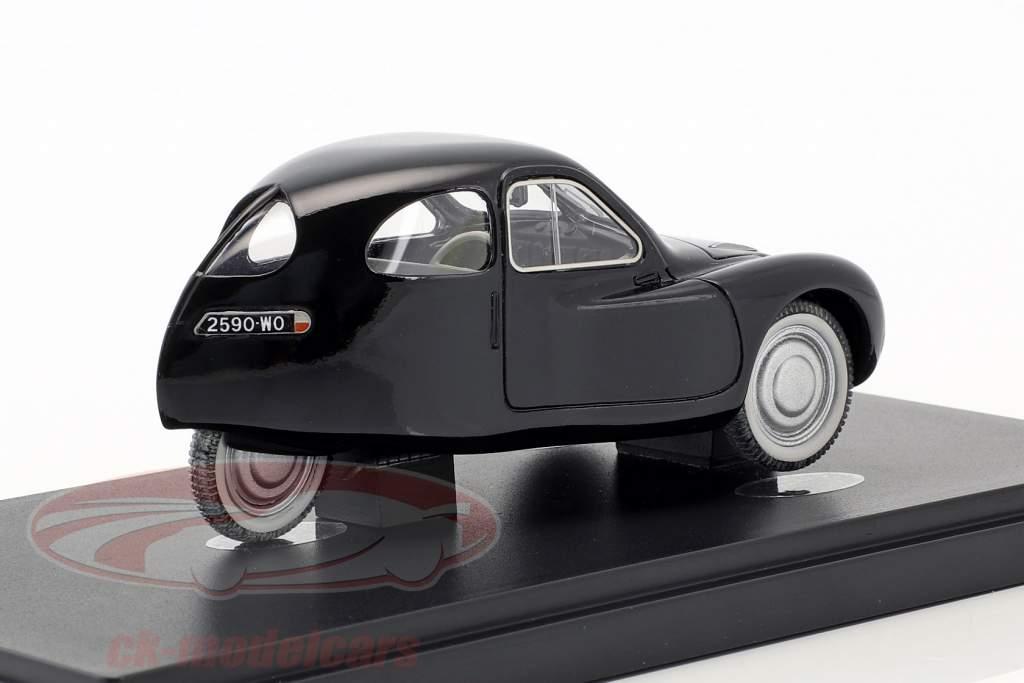 Mathis VL 333 année de construction 1942 noir 1:43 AutoCult
