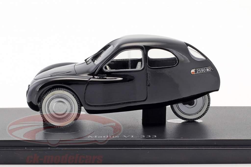 Mathis VL 333 anno di costruzione 1942 nero 1:43 AutoCult
