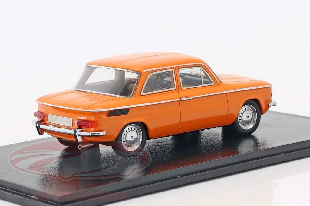 NSU 1200C Baujahr 1969 orange 1:43 Neo