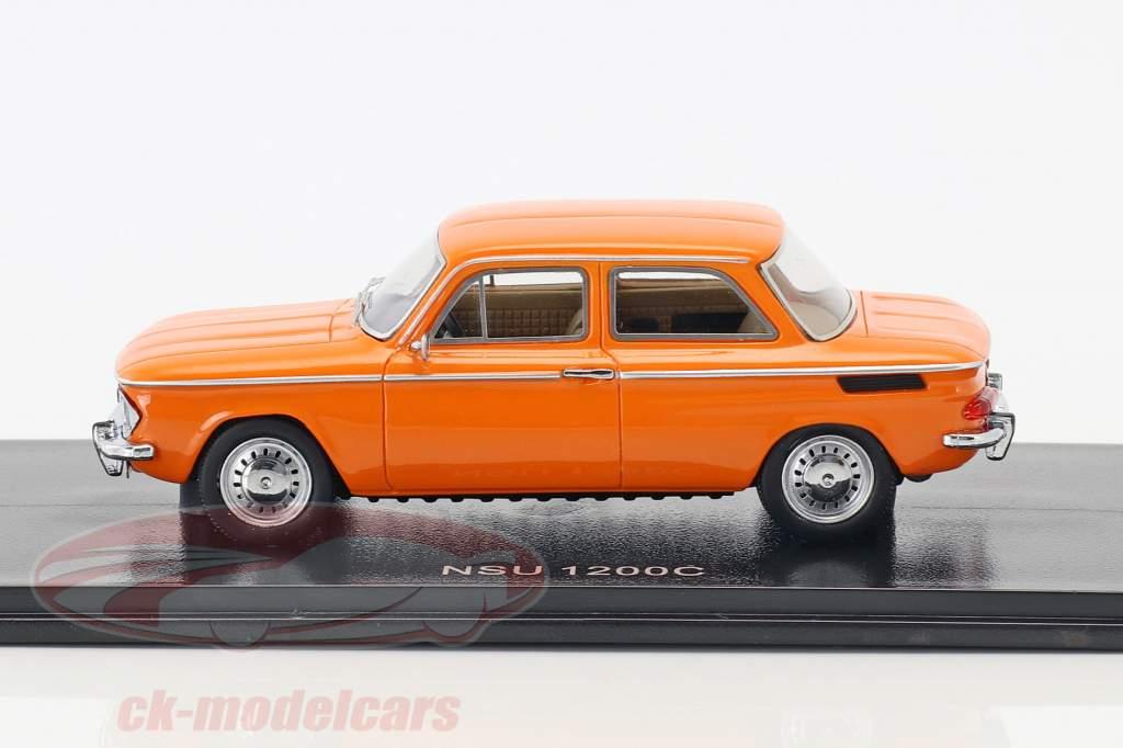 NSU 1200C année de construction 1969 orange 1:43 Neo