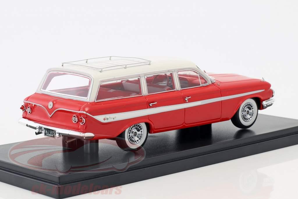 Chevrolet Nomad Station Wagon année de construction 1961 rouge / blanc 1:43 Neo