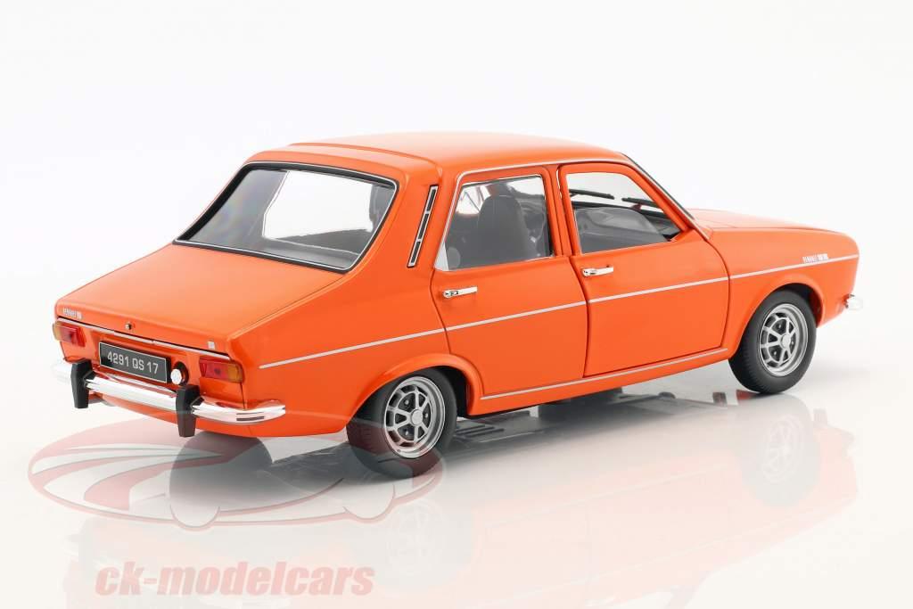 Renault 12 TS année de construction 1973 orange 1:18 Norev