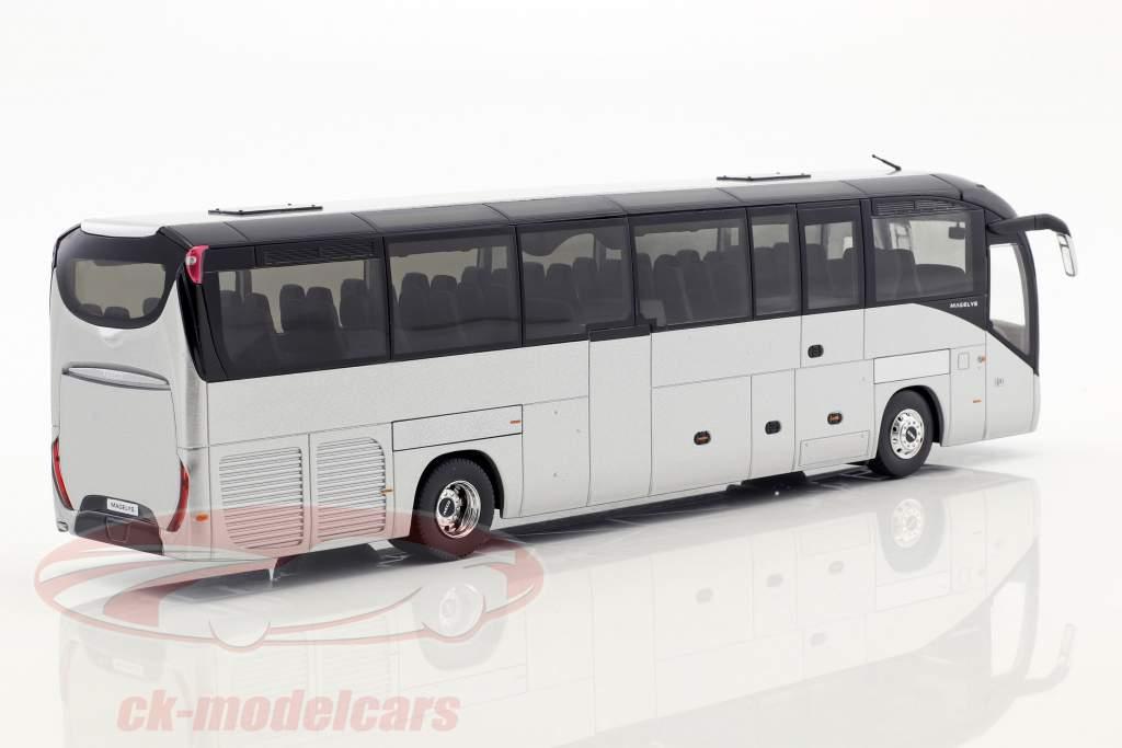 Iveco autobus Magelys Euro VI anno di costruzione 2014 argento metallico 1:43 Norev