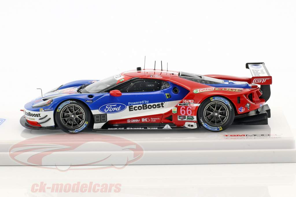 Ford GT #66 gagnant classe GTLM 24h Daytona 2017 Müller, Hand, Bourdais 1:43 TrueScale