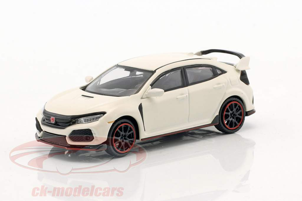 Honda Civic Type R LHD championship White 1:64 TrueScale