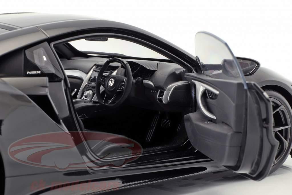 Honda NSX (NC1) anno di costruzione 2016 berlina nero 1:18 AUTOart