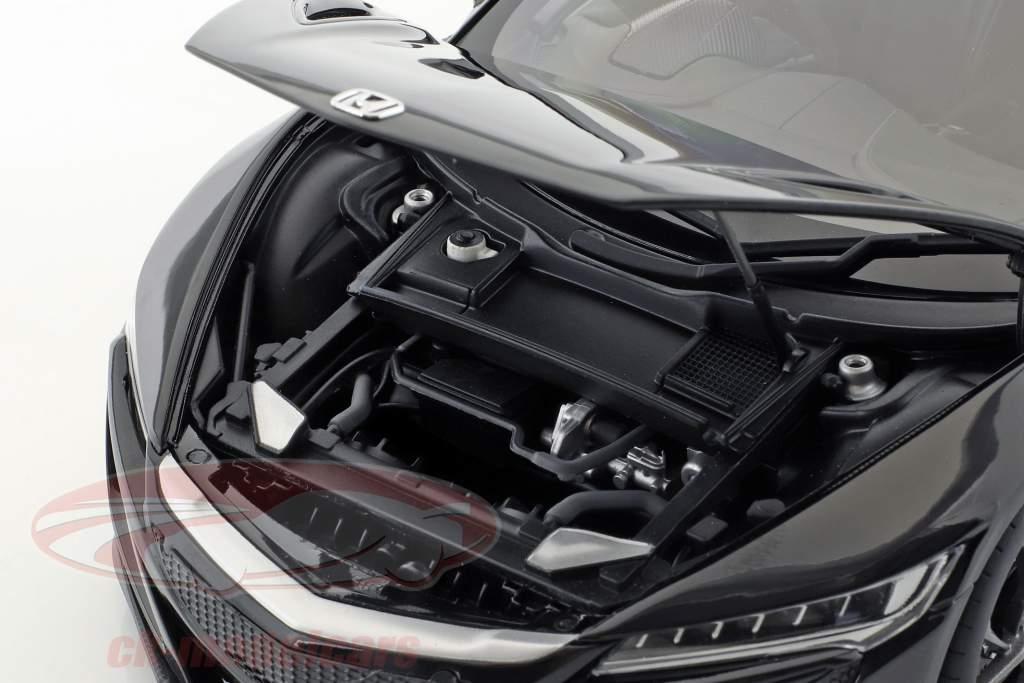 Honda NSX (NC1) ano de construção 2016 berlina preto 1:18 AUTOart