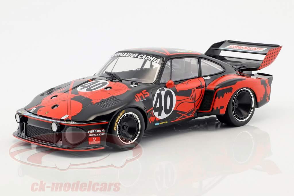 Porsche 935 #40 3rd 24h LeMans 1977 Ballot-Lena, Gregg 1:18 Norev