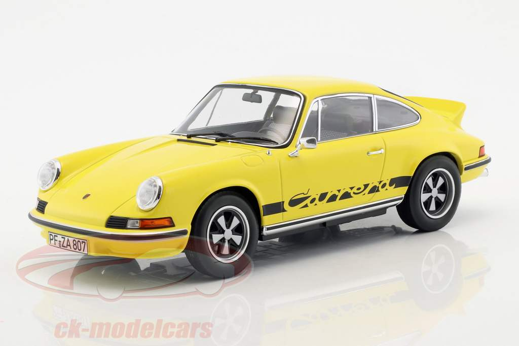 Porsche 911 RS Touring year 1973 yellow / black 1:18 Norev