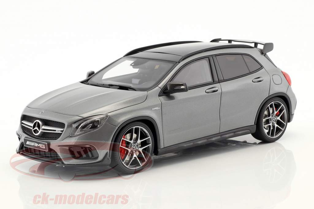 Mercedes-Benz AMG GLA 45 SUV mountain gray 1:18 GT-Spirit