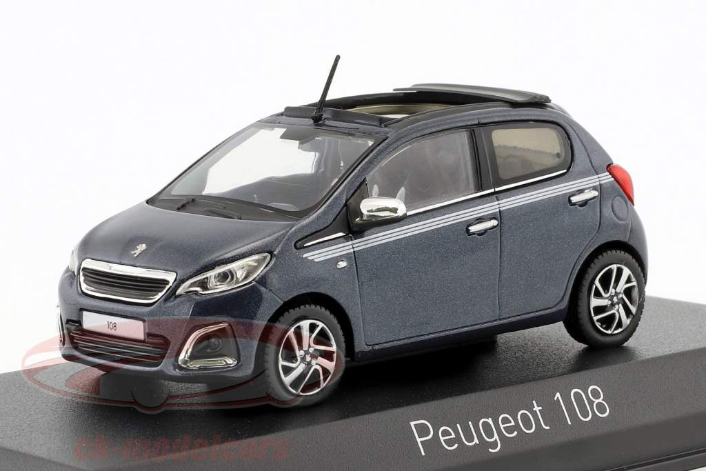 Peugeot 108 TOP Collection 2017 Blue 1//43-471801 NOREV