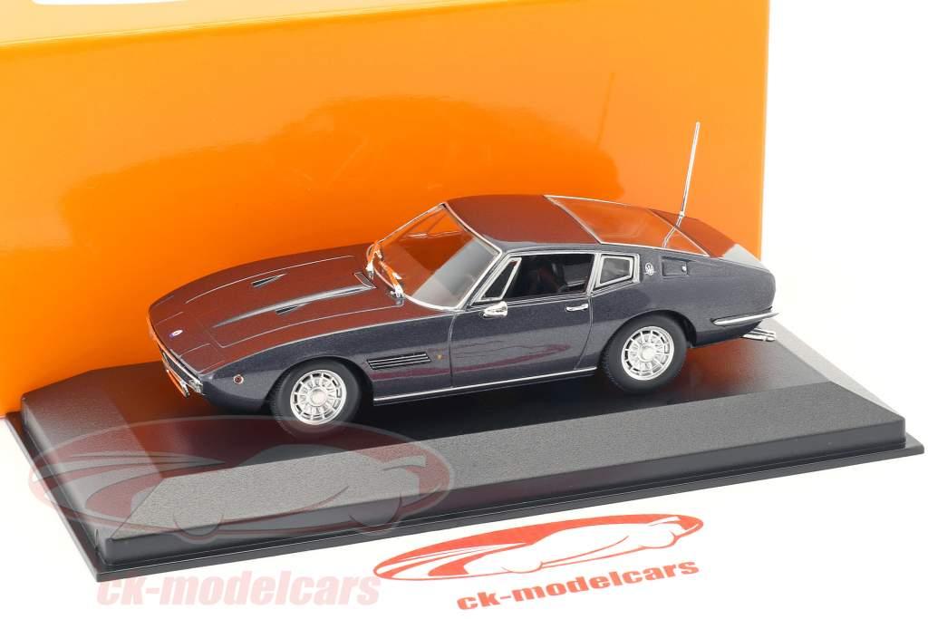 Maserati Ghibli Coupé 1969 bruin metalen 1:43 Minichamps