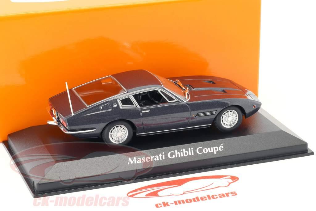 Maserati Ghibli Coupé 1969 brown metallic 1:43 Minichamps