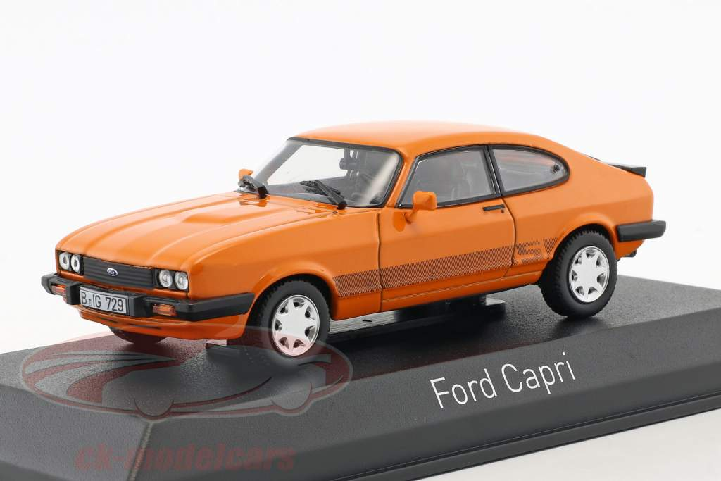 Ford Capri III année de construction 1980 orange 1:43 Norev