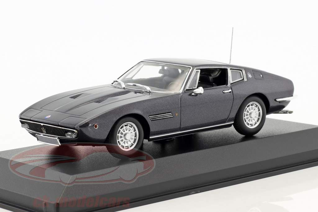 Maserati Ghibli Coupé 1969 brun métallique 1:43 Minichamps