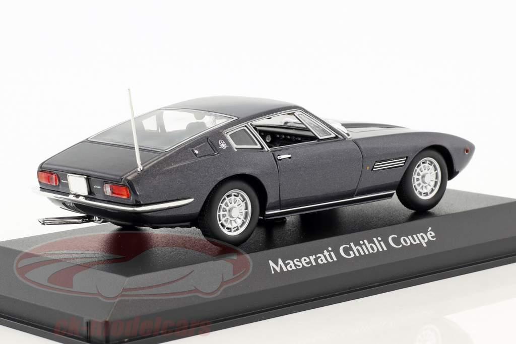 Maserati Ghibli Coupé Baujahr 1969 braun metallic 1:43 Minichamps