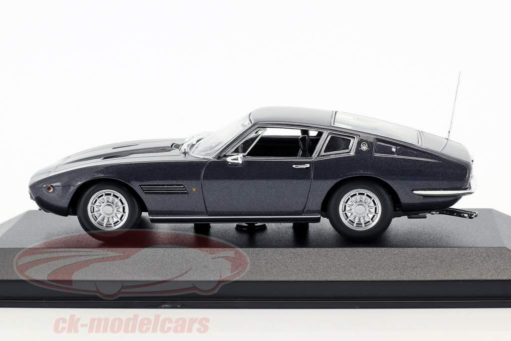 Maserati Ghibli Coupé 1969 marrone metallico 1:43 Minichamps