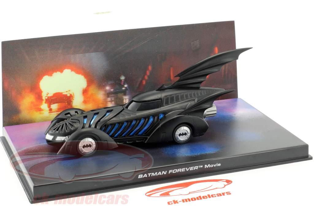Batmobile Batman Forever Film 1995 sort 1:43 Ixo Altaya