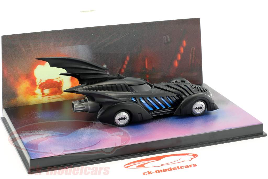 Batmobile Batman Forever Movie 1995 black 1:43 Ixo Altaya