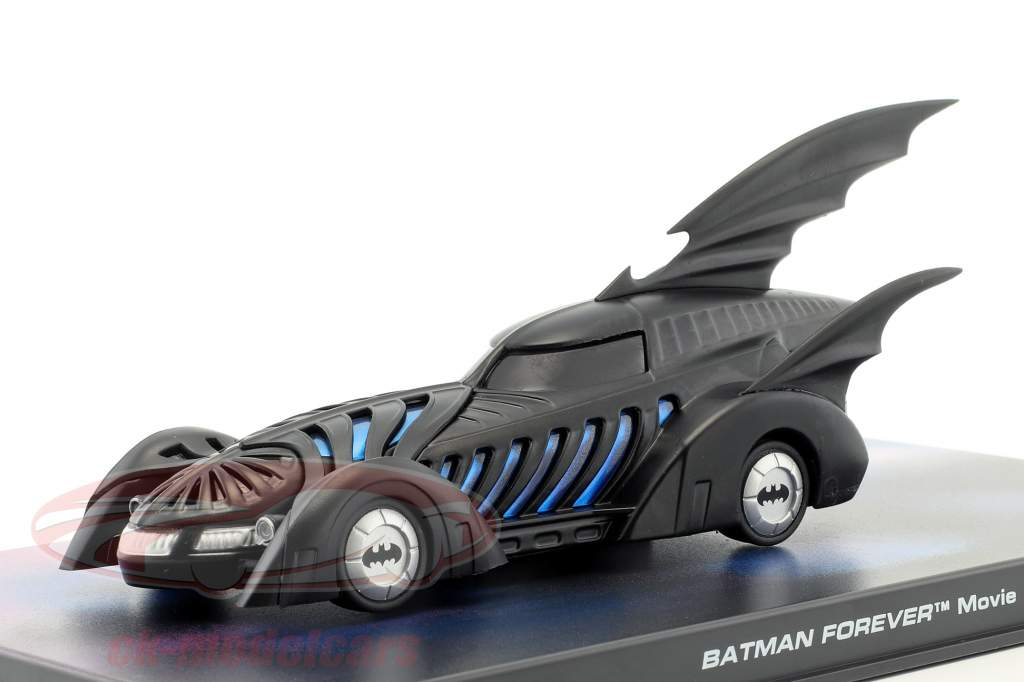 Batmóvel Batman Para sempre Filme 1995 preto 1:43 Ixo Altaya