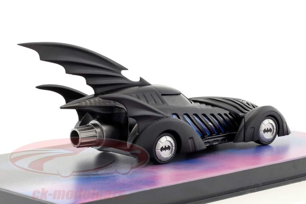 Batmobile Batman Forever Movie 1995 schwarz 1:43 Ixo Altaya