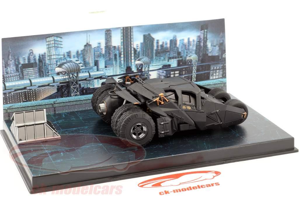 蝙蝠车 从 该 电影 蝙蝠侠 开始 2005 黑 1:43 Ixo Altaya