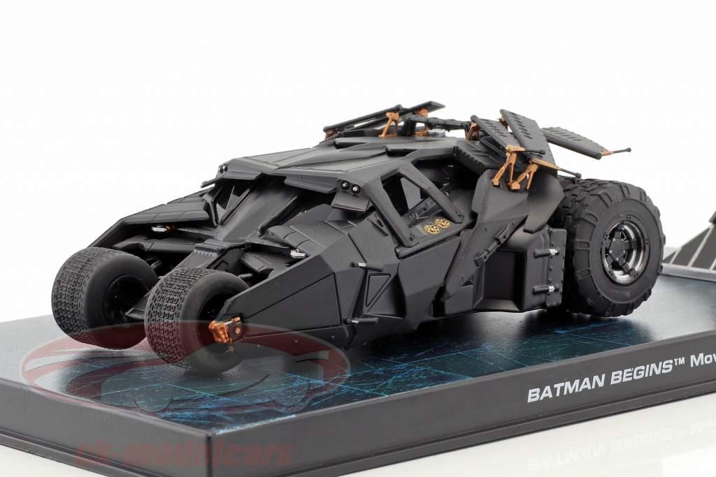 Batmobile desde la Cine Batman Empieza 2005 negro 1:43 Ixo Altaya