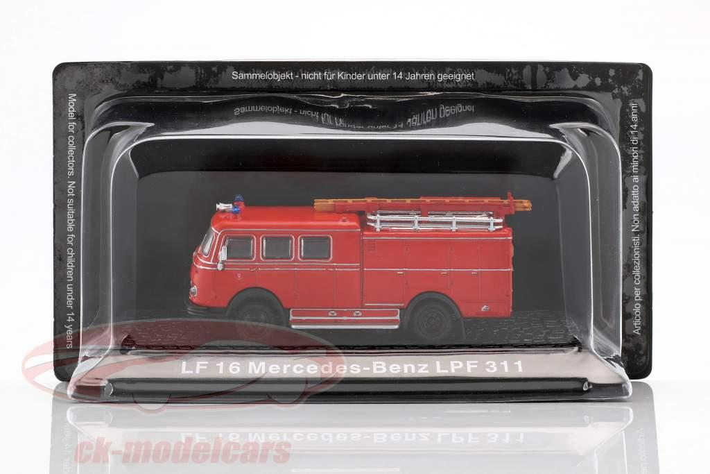Mercedes-Benz LF 16 LPF 311 fire Department red 1:72 Altaya