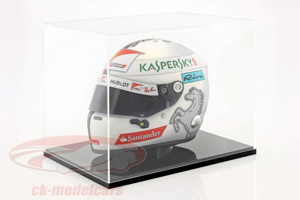 Caso de exibição de alta qualidade para capacetes em escala 1:2 SAFE