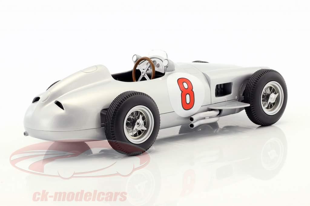 J.-M. Fangio Mercedes-Benz W196 #8 verdensmester formel 1 1955 1:18 iScale
