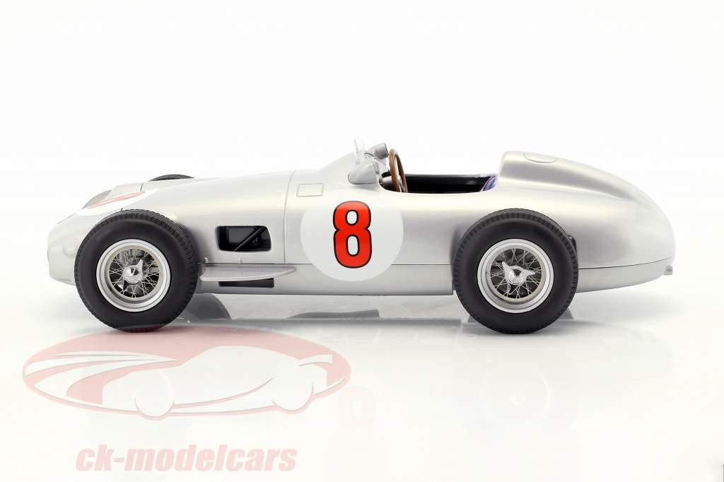 J.-M. Fangio Mercedes-Benz W196 #8 wereldkampioen formule 1 1955 1:18 iScale