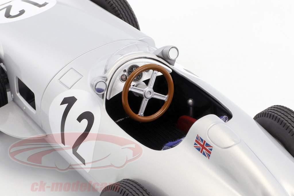 Stirling Moss Mercedes-Benz W196 #12 Winner British GP formula 1 1955 1:18 iScale