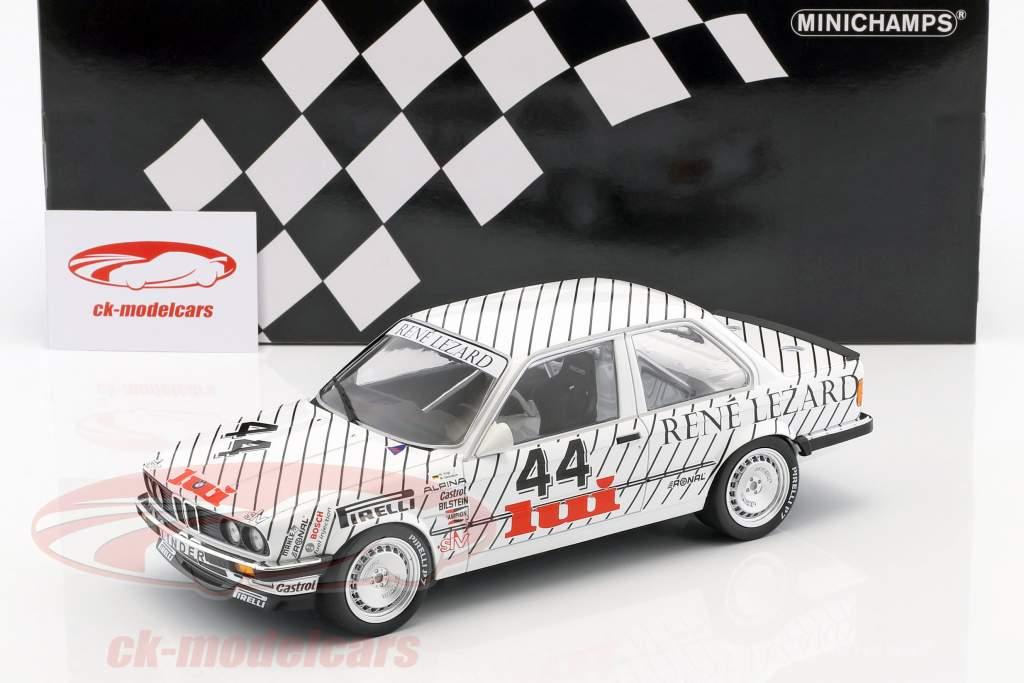 BMW 325i #44 winnaar van de klasse E.G. Trophy ETCC Zolder 1986 Vogt, Oestreich 1:18 Minichamps
