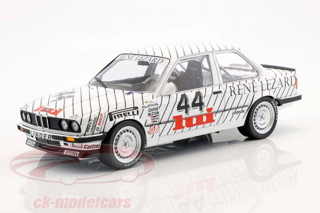 BMW 325i #44 ganador de la clase E.G. Trophy ETCC Zolder 1986 Vogt, Oestreich 1:18 Minichamps