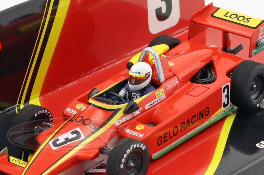 Stefan Bellof Ralt RT3 #3 formule 3 kampioenschap 1981 1:43 Minichamps