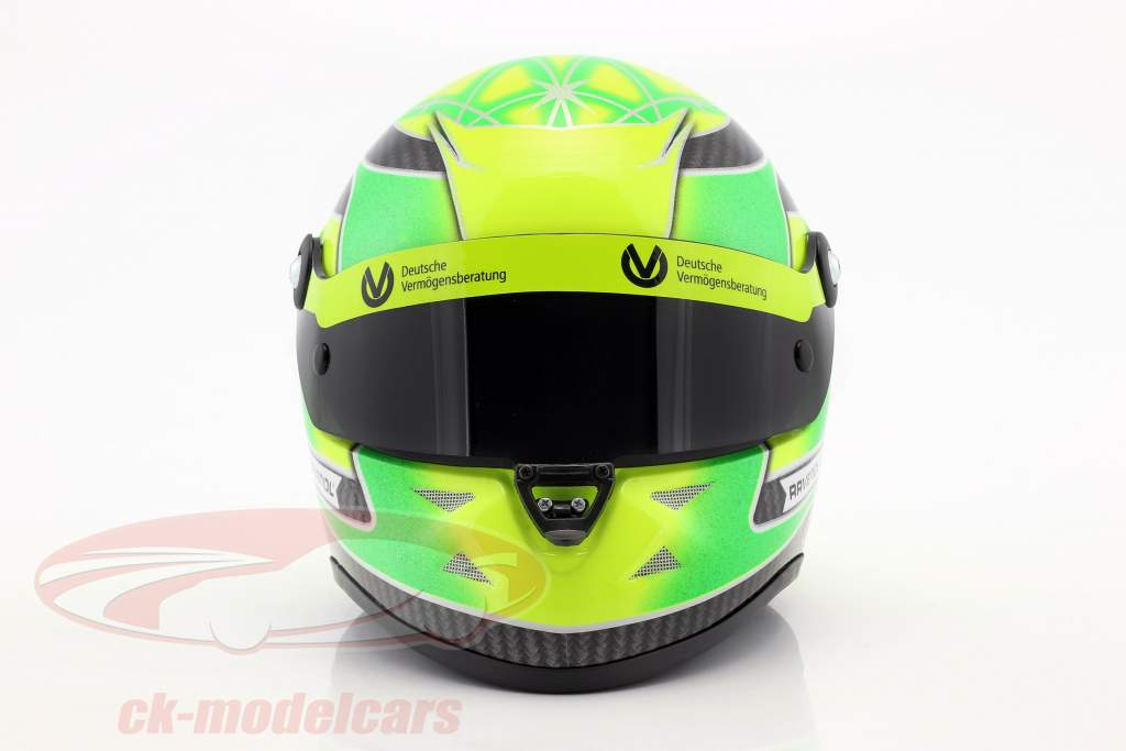 Mick Schumacher Dallara F317 formula 3 champion 2018 helmet 1:2 Schuberth