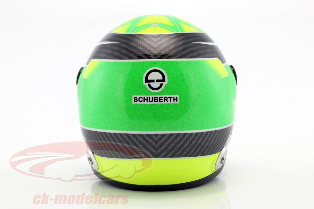 Mick Schumacher Dallara F317 formel 3 mester 2018 hjelm 1:2 Schuberth