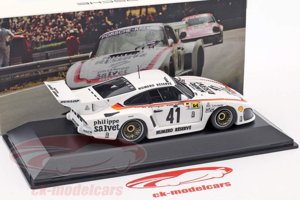 Porsche 935 K3 #41 Winnaar 24 LeMans 1979 Kremer Racing 1:43 Spark