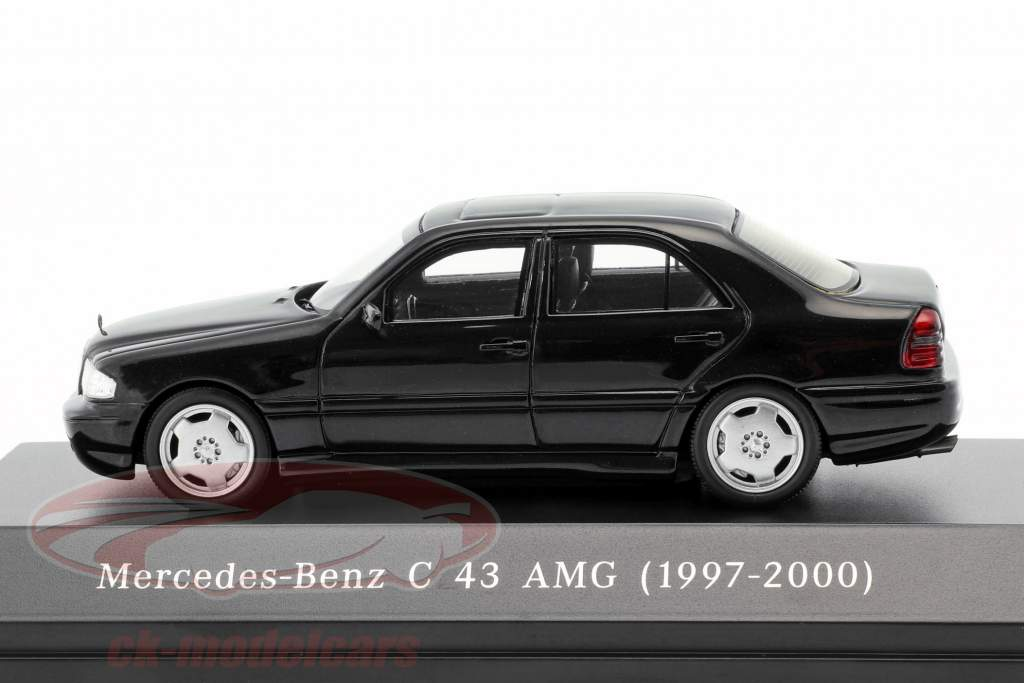 Mercedes-Benz C43 AMG year 1997-2000 black 1:43 Spark